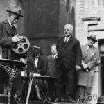 Unveiling of Louis Le Prince tablet. 
