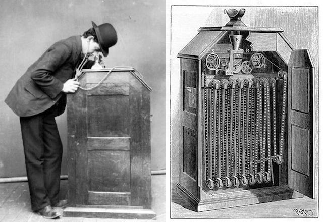 Edison's kinetoscope